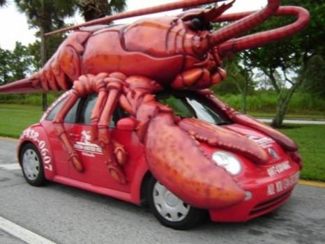 la voiture homard