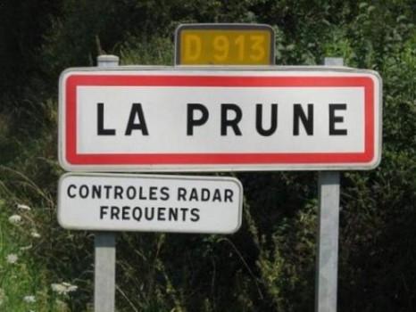 La Prune une ville qui porte bien son nom