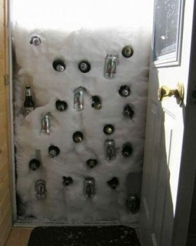 chute de neige pratique pour remplacee un frigo