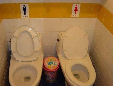 toilette mixte