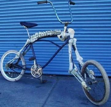 squelette de vélo