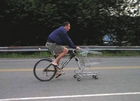 Vélo caddie