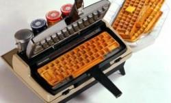 Gauffre clavier pour geek