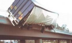 Accident d'un semi-remorque sur un pont