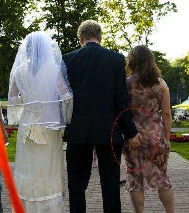 mariage : mauvais départ pour la marié