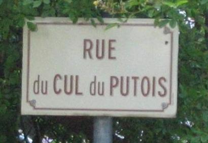 rue du cul du putois