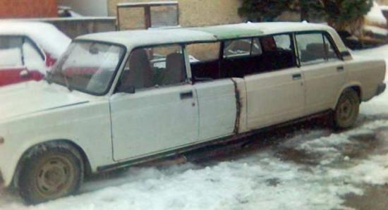 Une limousine roumaine