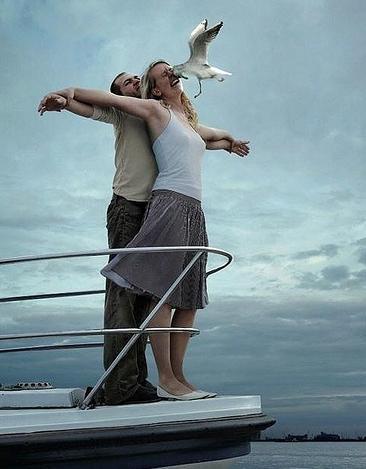 scene du Titanic