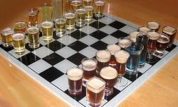 echiquier et alcool