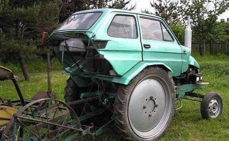 photo d une tracto voiture
