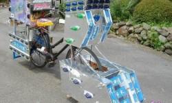 un vélo robot japonais