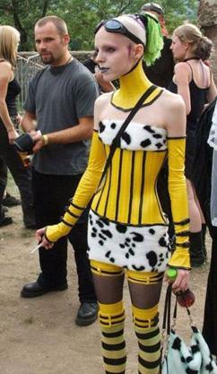 Elle est fan des abeilles et des vaches