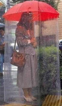 Un parapluie japonais
