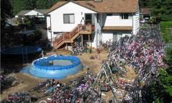 Un collectionneur de vélos