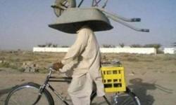 Comment transporter une brouette à vélo ?