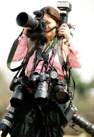 Une photographe qui est parano