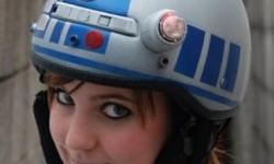 Le casque R2D2
