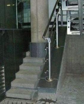 Un escalier impraticable