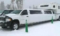 Une limousine camping car
