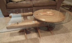 table basse Star Trek USS Eenterprise