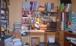 bureau pas rangé