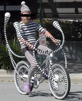 Le vélo zèbre
