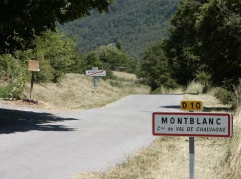 La petite commune Mont Blanc