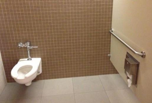 Des toilettes handicapés, dans les deux sens du terme, le propre et le figuré