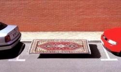 place de parking pour tapis volant