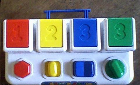 Apprendre à compter jusqu'à 3 seulement !