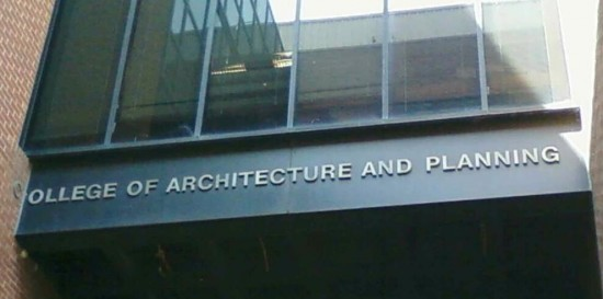 College of Architecture and Planning - fail