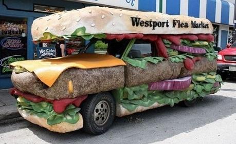 camionnette sandwich