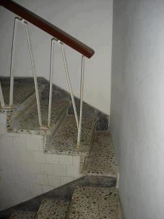 Un escalier presque inaccessible