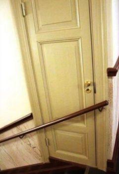 une porte impossible à ouvrir