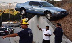 drôle d'accident de voiture