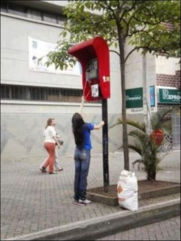 cabine téléphonique pour grand